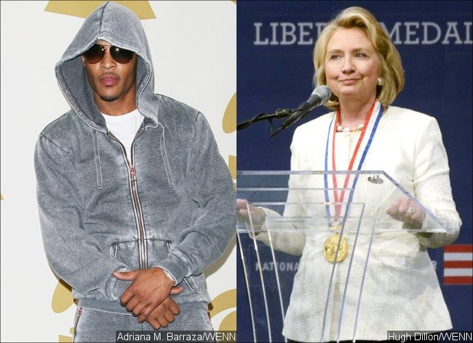 T.I. Apologizes for His Sexist Comment on Hilary Clinton's Presidential Run