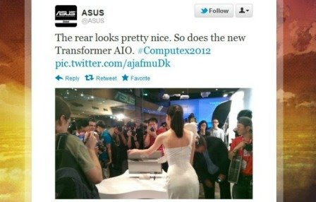 Asus Booth Babe