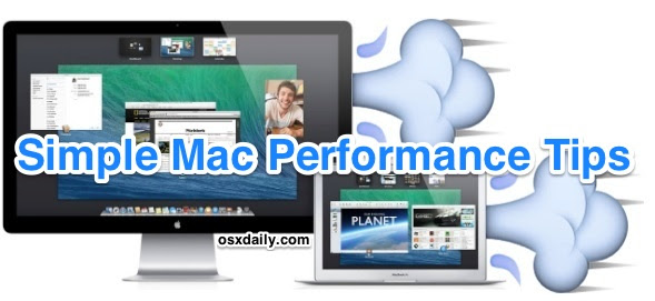 Simple Mac Performance Tips to Speed Up Any Mac