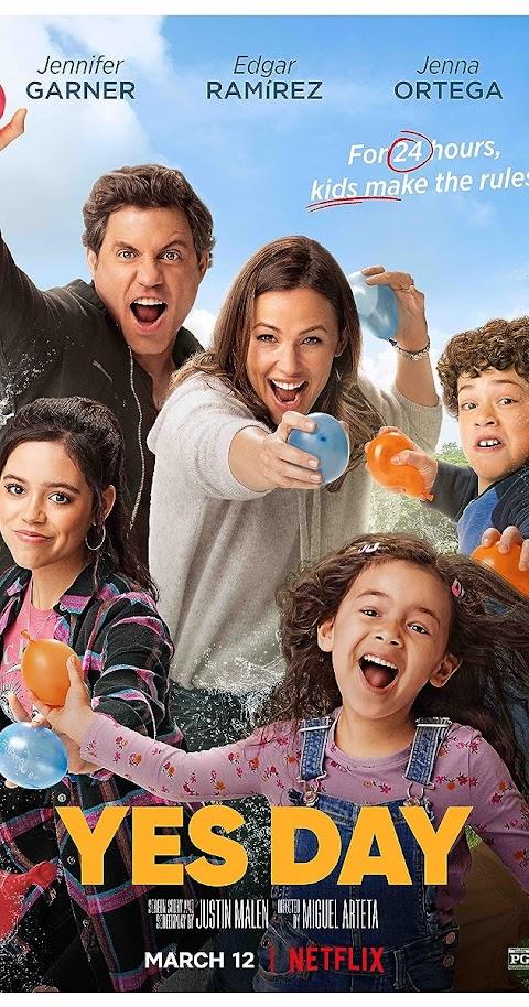 Yes Day(2021) 480p 720p WebRip Dual Audio (Hindi+English) | Netflix Film