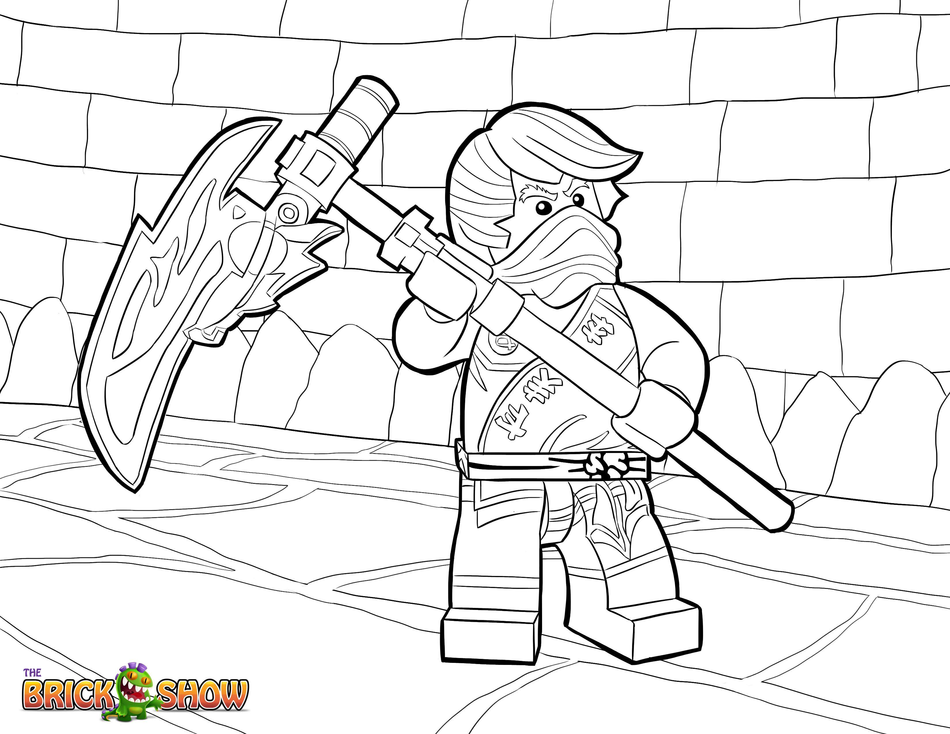 malvorlagen lego ninjago schlangen