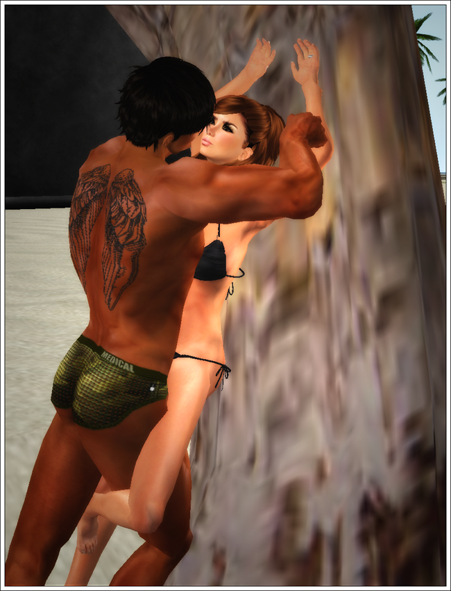 Shameless Bits: Kissing Palm Tree