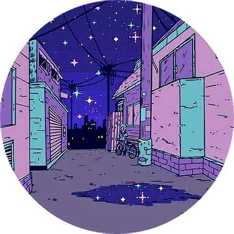 vaporwave anime aesthetic sticker  sara