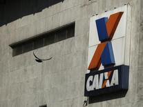 Prédio da Caixa no centro do Rio de Janeiro. 20/08/2014 REUTERS/Pilar Olivares