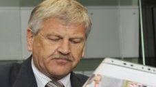 Udo Voigt, leader du NPD allemand. Dernier score aux élections législatives : 1,8% (AFP)