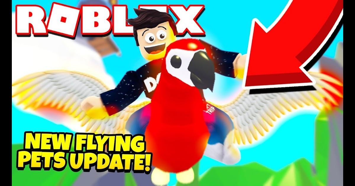 Making All My Pets Flyable In Roblox Adopt Me