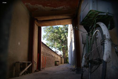 En un cité de Santiago. by Alejandro Bonilla