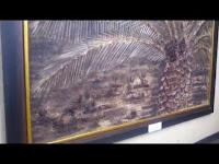 [VIDEO] Indahnya Lukisan Yang Terbuat Dari Limbah Kelapa Sawit Pukau Pengunjung