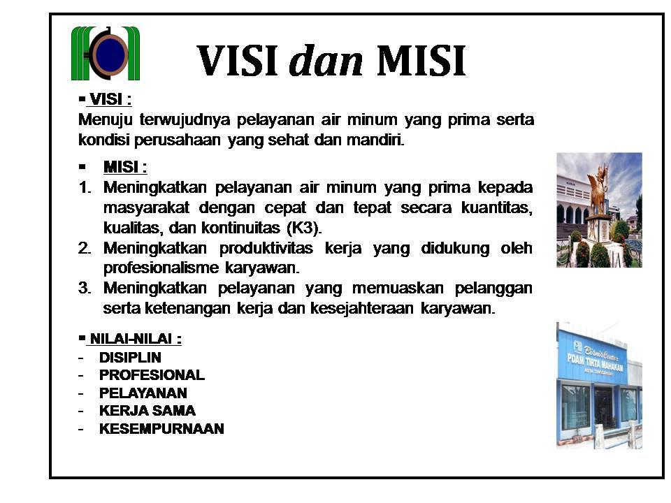 Contoh Visi Dan Misi Organisasi - Contoh UU