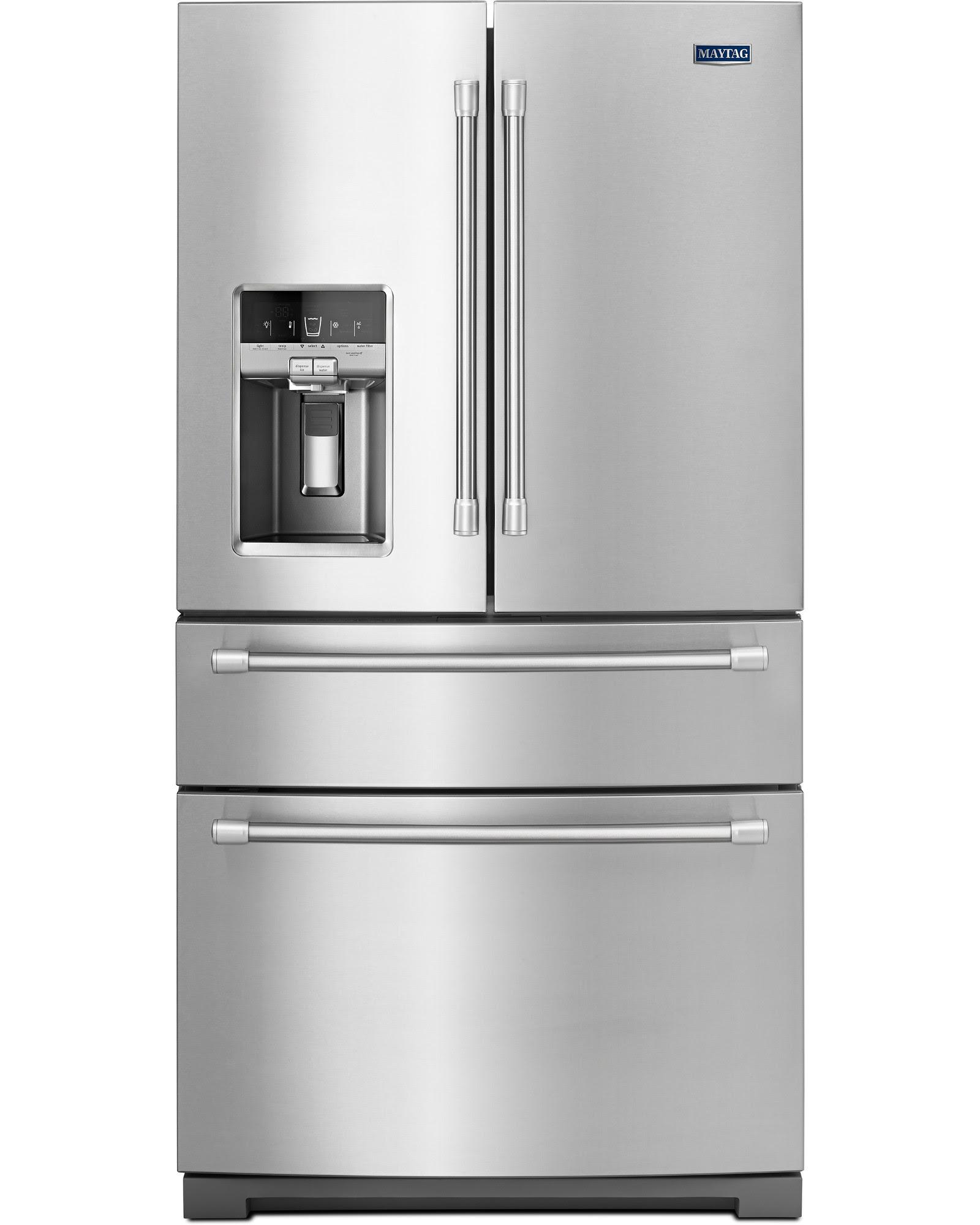 UPC Maytag MFX2876DRM 26 2 cu ft Bottom Freezer