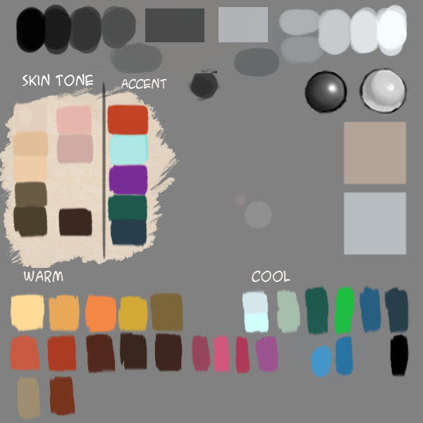 xia's color palette