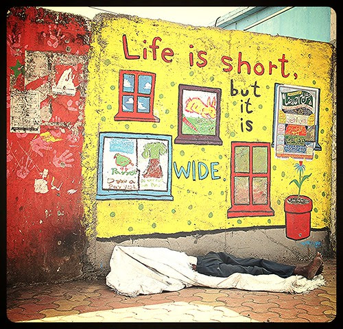 Life is Short But It is Wide by firoze shakir photographerno1