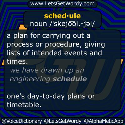 schedule 09/08/2014 GFX Definition
