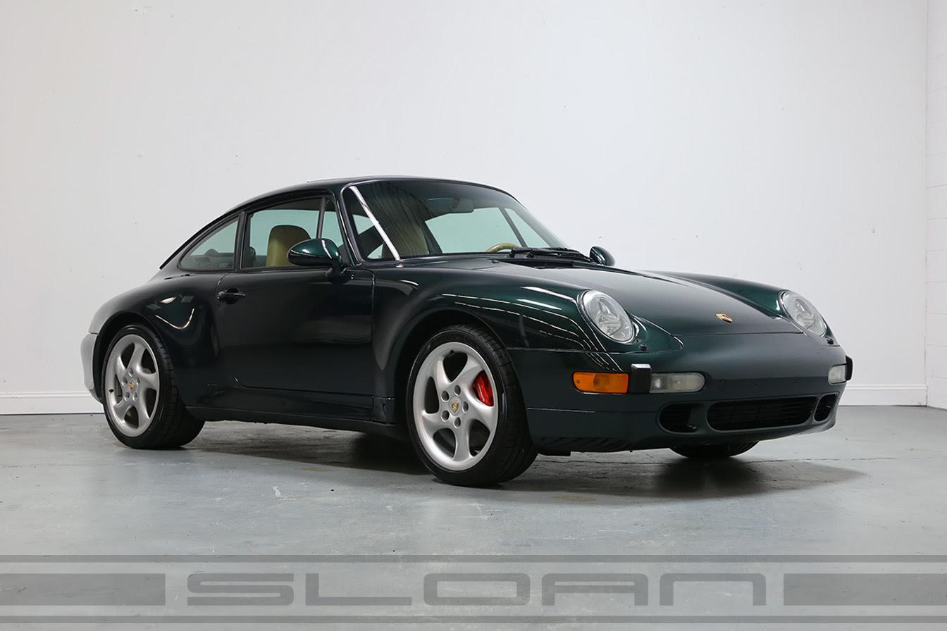 1997 Porsche 993 Carrera 4s Forest Green Metallic For Sale