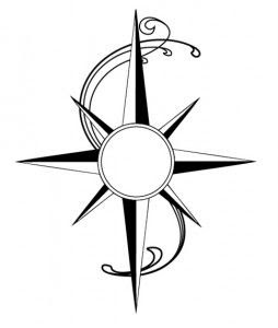 Simple Compass Rose Clipart Free Download Best Simple Compass Rose