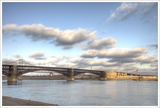 Eads Bridge, Winter Afternoon