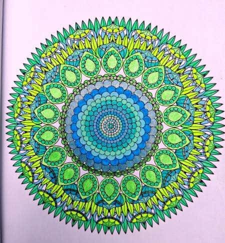 Coloring Flower Mandalas Sample | Backdoor Survival