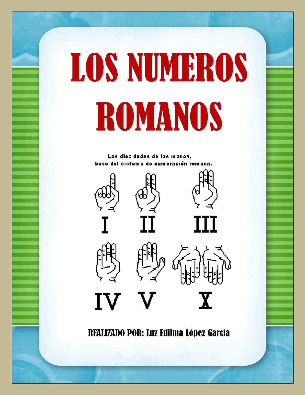 Calaméo Los Números Romanos