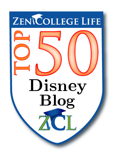ZenCollegeLife Top 50 Disney Blog