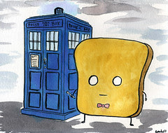 Mr Toast as Doctor Who