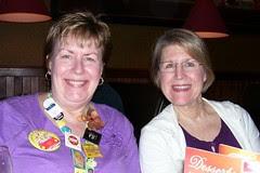 ScrapFest2012 me and Nancy Fri