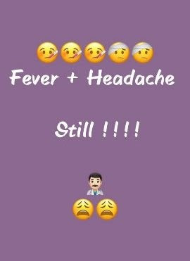 Fever Status For Whatsapp