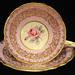 Royal Stafford Bone China Floral Teacup & Saucer