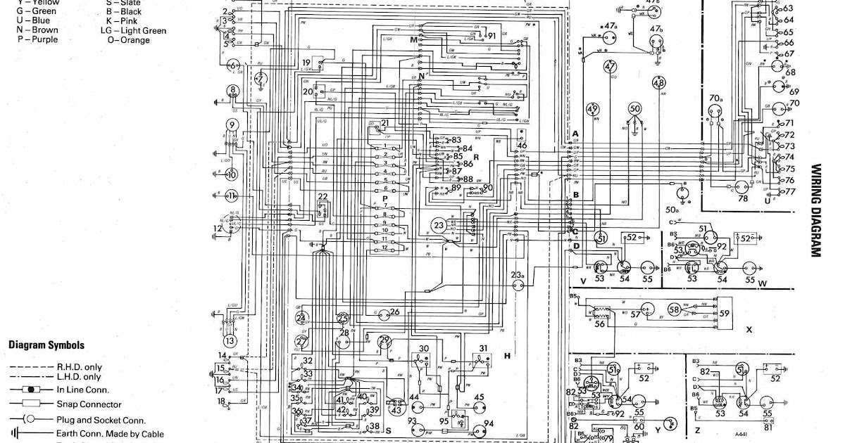 Volkswagen Golf Wiring Diagram