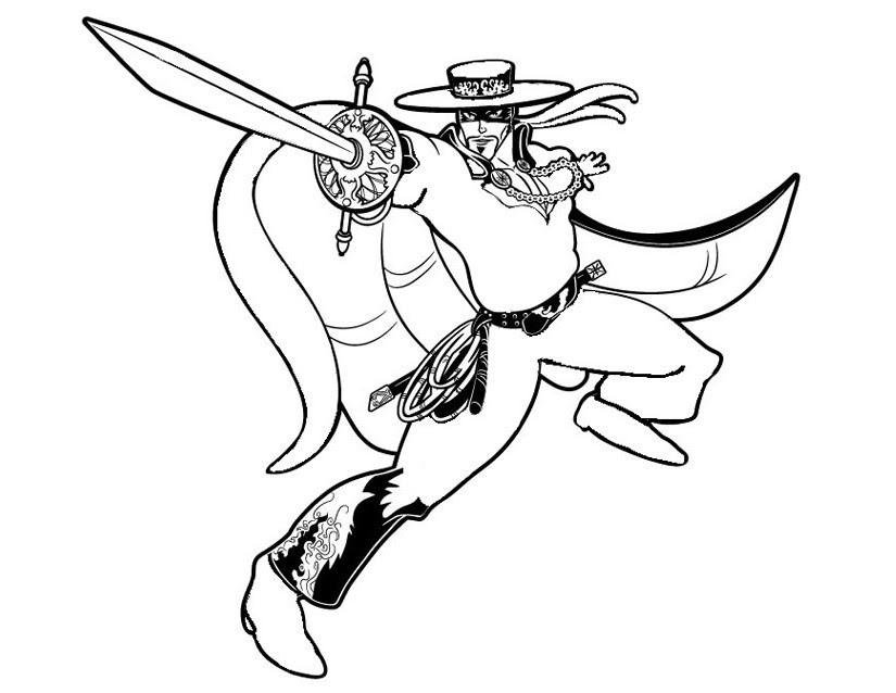 Coloriage Zorro.Nouveau 2019 Coloriage Zorro A Imprimer Coloriage A Imprimer