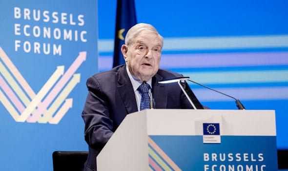 Αποτέλεσμα εικόνας για SOROS IN BRUSSELS