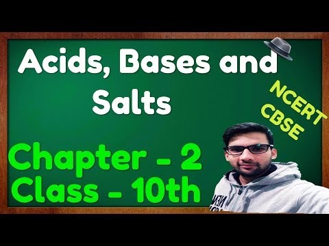 Chapter - 2, Acids Bases and Salts Notes