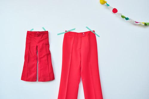 rode broek x 2