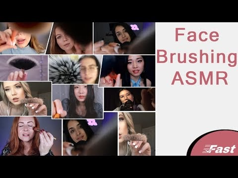 Face Brushing asmr 🙅🏻♀️ 🙅🏻 🙅🏻♂️ 🙆🏻♀️ 🙆🏻 Fast and Aggresive ASMR