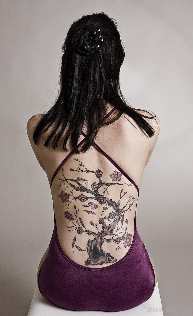 Cherry Blossom Tree Tattoo On Back Tattoo Designs Tattoo Pictures