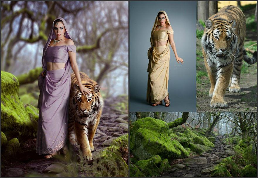 Viktoria Solidarnyh'ın inanılmaz Photoshop çalışmaları 3