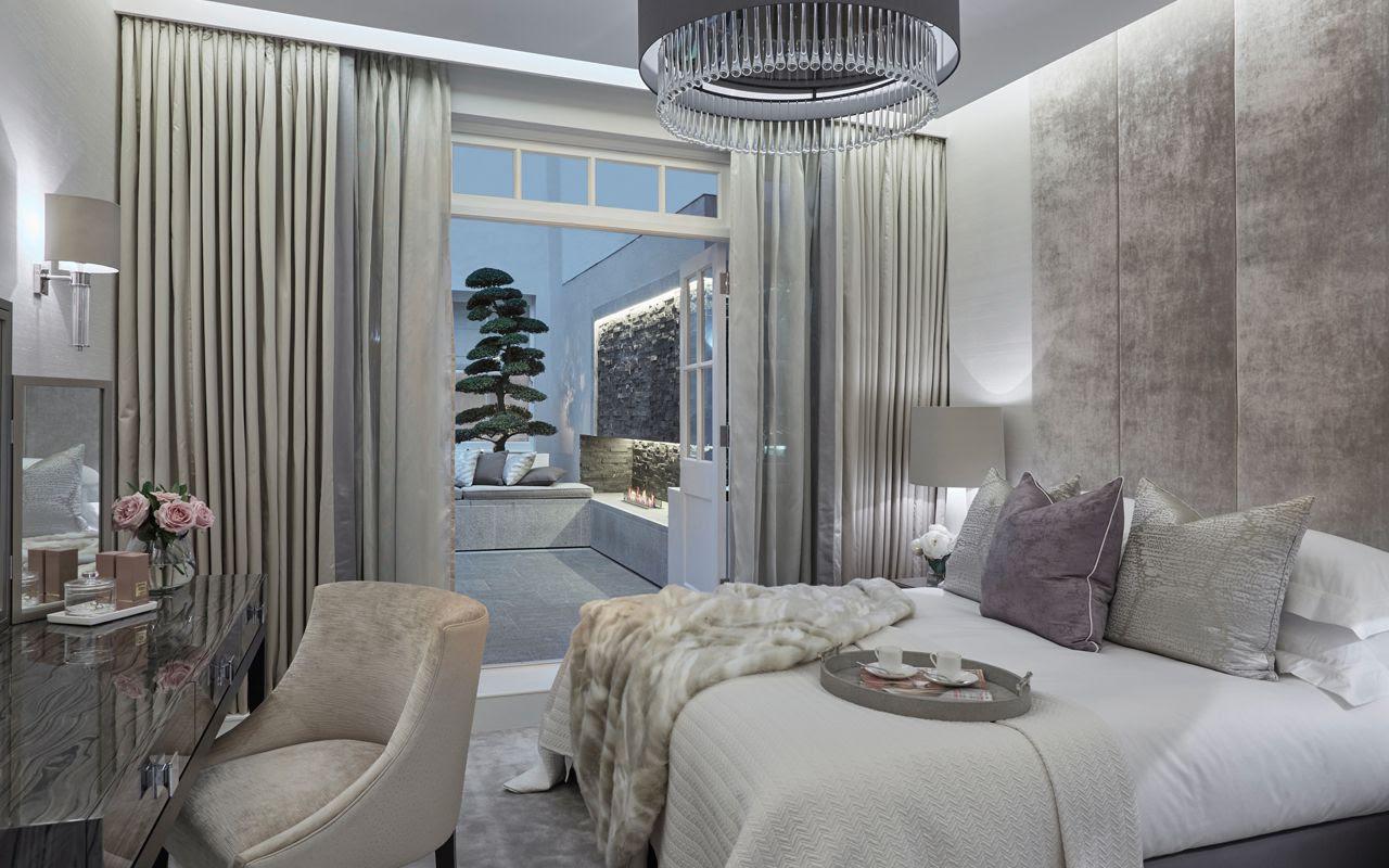 20 Inspiring Contemporary British Bedrooms Dk Decor - Interior : Bed Room, Living Room, Dining, Kitchen Kerala Home Designand Floor Plans