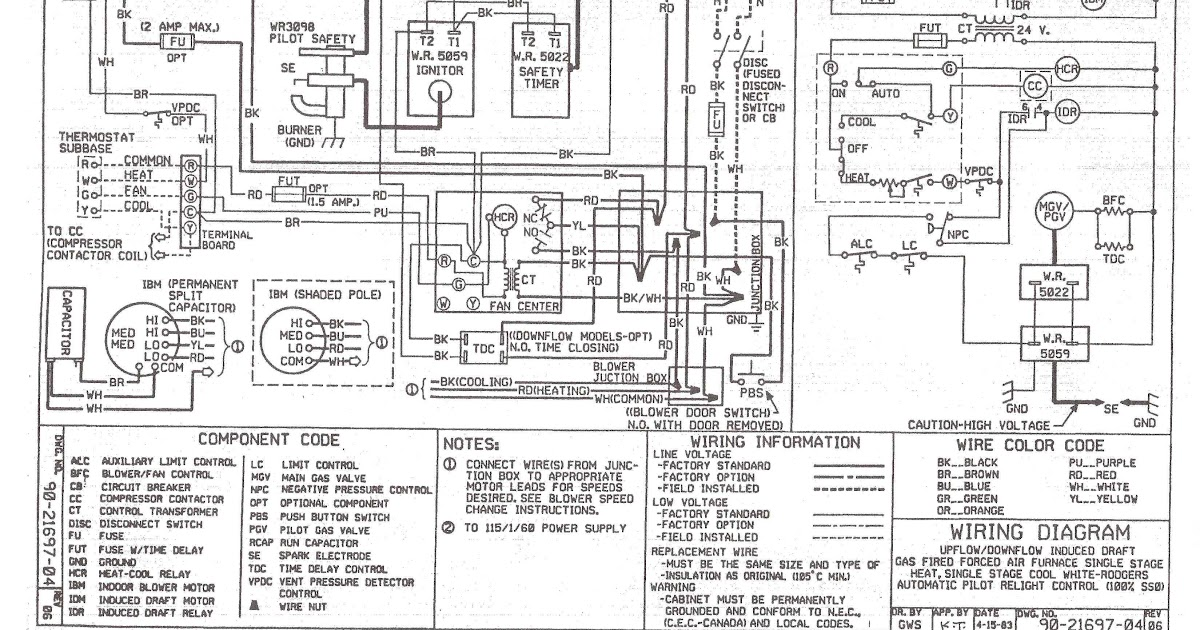 White Rodgers 50a50-241 Wiring Diagram Heat Pump Blue Wire - Database