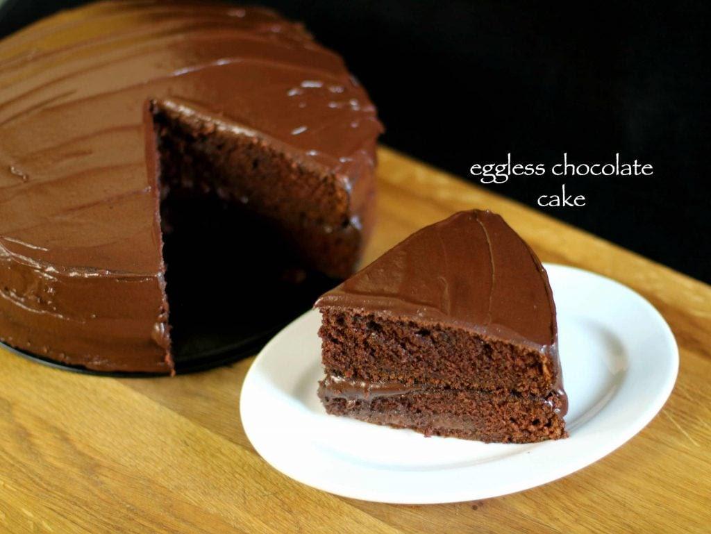 eggless chocolate cake recipe | eggless cake recipe