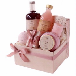 Sabon Pink Bath Basket - Breast Cancer Awareness Month
