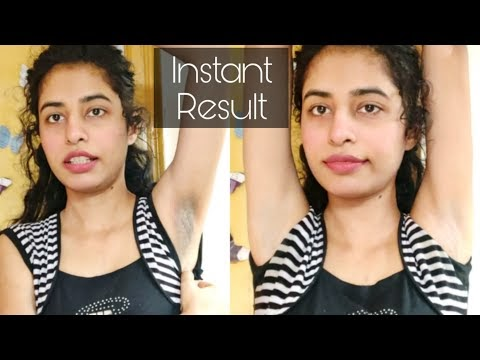 Underarms Whitening at Home Instant Results Home remedy| keebisha