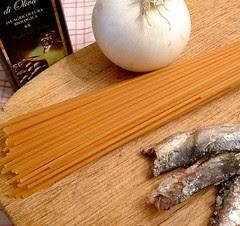 bigoi mori in salsa ingredienti