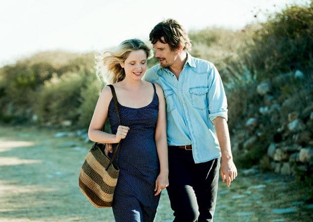 Sintonia: Ethan Hawke (e Julie Deply) em 'Antes da Meia-Noite' (2013) (Foto: Divulgação)