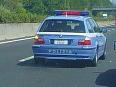 Italian State Police BMW Station wagon