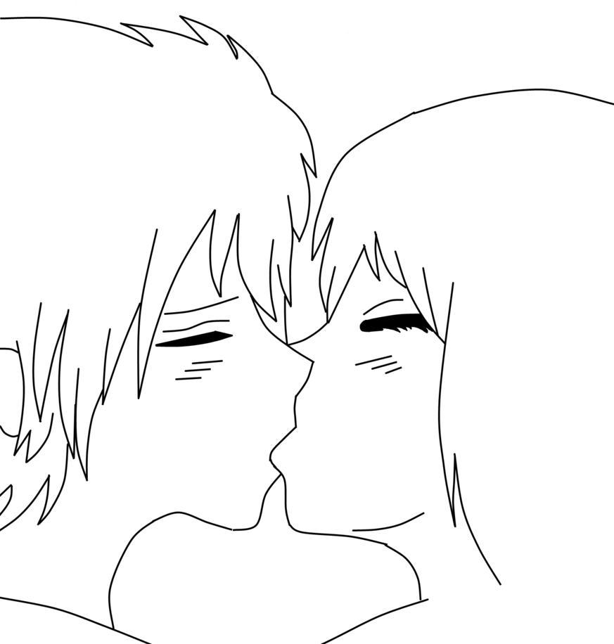Anime Art Base Couple Anime couple kiss base free by fufufufoo on deviantart. anime art base couple
