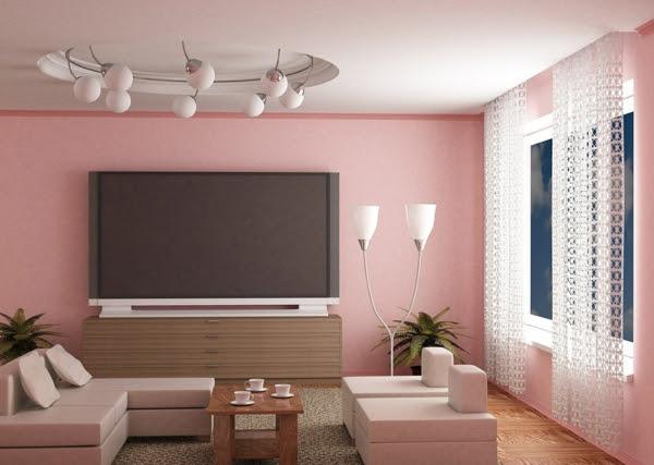 Wandfarben Ideen Wohnzimmer - erfrischen Sie Ihren Wohnraum