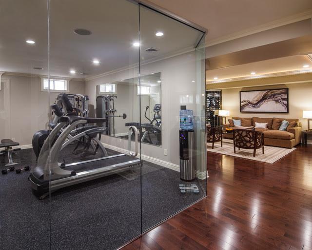 Modern Marvel - contemporary - home gym - new york - by Creative ...
