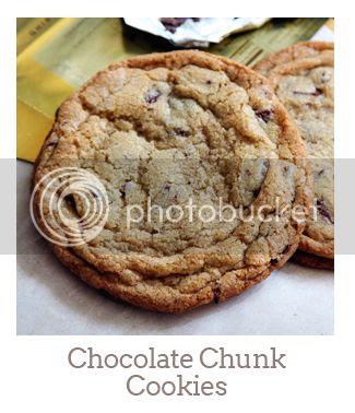 """Chocolate Chunk Cookies"""