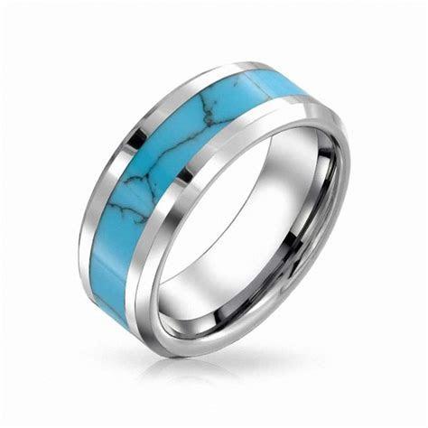 Aliexpress.com : Buy 8mm Mens Womens Tungsten Blue
