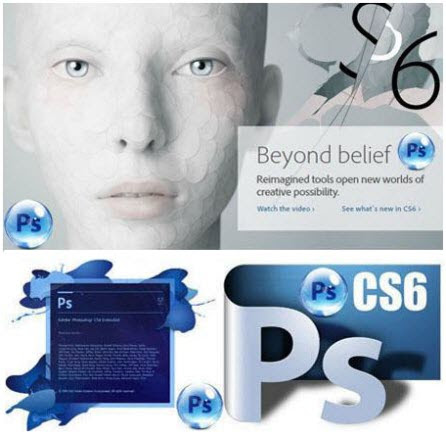 Adobe Photoshop CS6 Extended v13.0 Repacked (+ Plugins/Textures) June 2013