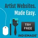 IndieMade.com Websites for Artists Made Easy